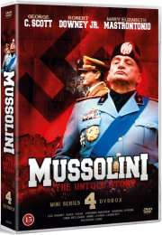 mussolini - the untold story - miniserie - DVD