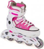 rulleskøjter inliners - lyserød str. 33-36 - my hood - Udendørs Leg