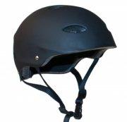 cykelhjelm til børn - sort skaterhjelm - 55-58cm - Udendørs Leg
