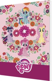 my little pony malebog - lyserød - pattern - Kreativitet