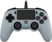nacon compact ps4 controller - grå - Konsoller Og Tilbehør