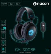 nacon stereo gh-300sr hovedtelefoner med 7.1 surround - Tv Og Lyd
