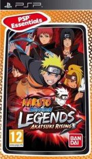 naruto shippuden legends akatsuki rising (essentials) - psp
