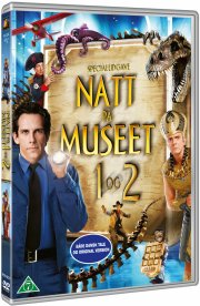 nat på museet 1+2 - DVD
