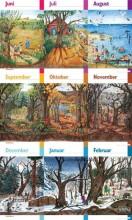 natursnak-tak, 4 plakater - bog