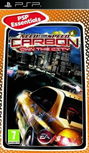 need for speed carbon: own the city (essentials) - psp