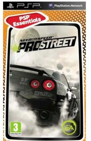 need for speed prostreet (essentials) - psp