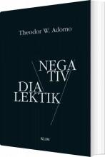 negativ dialektik - bog