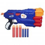 nerf gun / gevær - n-strike dual strike - Legetøjsvåben