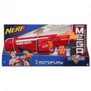 nerf gun / gevær n-strike mega rotofury - Legetøjsvåben