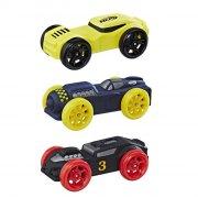 nerf nitro car / legetøjs bil i skum - sort / blå / gul - Køretøjer Og Fly