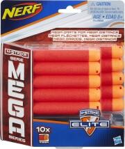 nerf n-strike mega darts refill - 10 stk. - Legetøjsvåben
