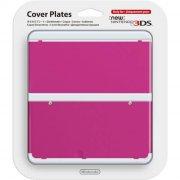 new nintendo 3ds cover plate - pink - Konsoller Og Tilbehør