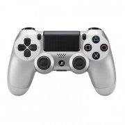 sony playstation 4 controller - dualshock 4 v2 - silver - Konsoller Og Tilbehør