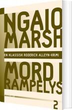 ngaio marsh 2 - mord i rampelys - bog