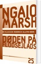 ngaio marsh 25 - døden på flodsejlads - bog