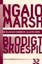 ngaio marsh 32 - blodigt skuespil - bog