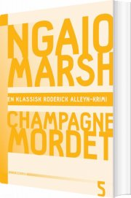 ngaio marsh 5 - champagnemordet - bog