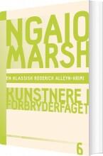 ngaio marsh 6 - kunstnere i forbryderfaget - bog