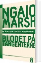 ngaio marsh 8 - blodet på tangenterne - bog