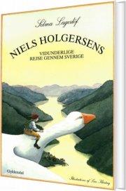 niels holgersens vidunderlige rejse gennem sverige - bog
