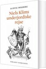 niels klims underjordiske rejse - bog