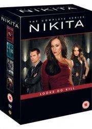 nikita - sæson 1-4 - komplet box set - DVD