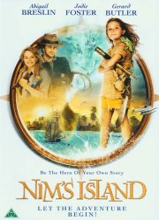 nim's island / nim og den hemmelige ø - DVD
