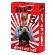 ninja forklæde og pandebåndssæt - Gadgets
