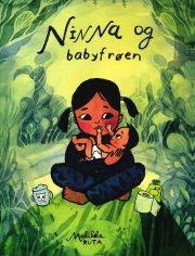 ninna og babyfrøen - bog