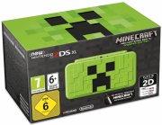 nintendo 2ds xl creeper edition med minecraft pre-installeret - Konsoller Og Tilbehør