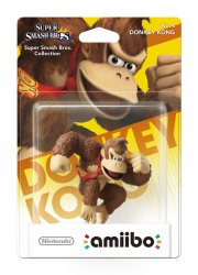 nintendo amiibo: super smash bros. figur - donkey kong - Figurer