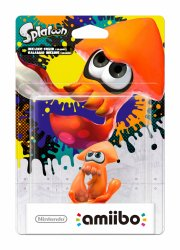 nintendo amiibo figurine - orange squid (splatoon collection) - Figurer