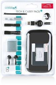 nintendo dsi tilbehør pakke - tech & carry pack - sort - Konsoller Og Tilbehør