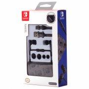 nintendo switch travel kit med bl.a. høretelefoner, kabel og skærmbeskytter - Konsoller Og Tilbehør