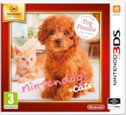 nintendogs and cats 3d: toy poodle (select) - nintendo 3ds