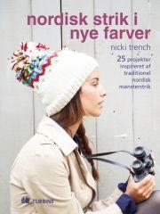 nordisk strik i nye farver - bog