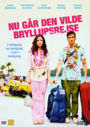 nu går den vilde bryllupsrejse / you may not kiss the bride - DVD