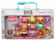 num noms lunch box series 4 figurer - desserttallerken - Figurer