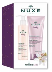 nuxe - body 2 stk - scrub + bodylotion - gavesæt - Hudpleje