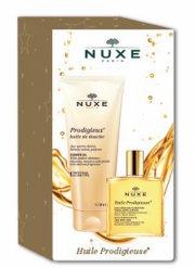 nuxe - prodigieuse body - olie 50 ml + badeolie 200 ml 2 stk- gavesæt - Hudpleje