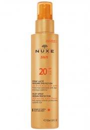 nuxe sun milky spray solcreme spf 20 - 150 ml. - Hudpleje