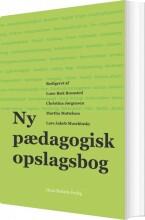 ny pædagogisk opslagsbog - bog