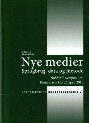 nye medier. sprogbrug, data og metode - bog