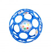 oball rangle motorikbold / o ball bold - 10 cm - blå - Babylegetøj
