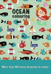 malebog - farvelæg havet - Kreativitet
