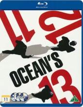 ocean's eleven // ocean's twelve // ocean's thirteen - Blu-Ray