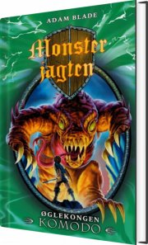 monsterjagten 31 - øglekongen komodo - bog