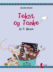 øjne på dansk, tekst og tanke, 6.-7.kl. elevbog - bog