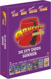 ørkenens sønner dvd box - de syv døds sønner - DVD